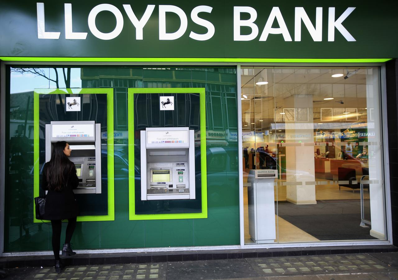 Lloyds Profits Nearly Wiped Out
