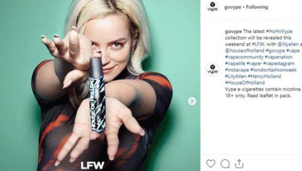 Instagram E-Cigarette Posts Banned