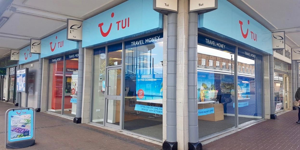 Tui to Close 166 High Street Shops